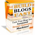 Build Blogs Fast