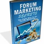 Forum Marketing Secrets
